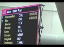 German Fernandez 3:55.02 Collegiate & World Junior Indoor Mile Record
