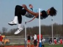 Junior Breaks 25-Year High Jump Record, 7',5 3/4""