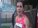 Shannon Rowbury Post Race- USATF Mile Road Championships.