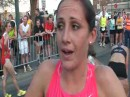 Shannon Rowbury Champ Post Race- USATF Mile Road Championships.