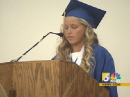 Jordan Hasay graduation speech (news clip)