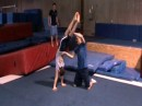 Teaching a Back Handspring