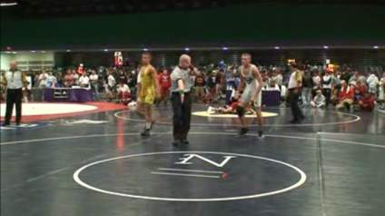 Tony Jameson OH Pins Thomas Ellerbee FL