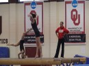 Beam Workout with the OU Women