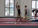 Tiffany Tolnay Floor Routine