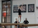 Grace Taylor Beam Routine